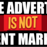 native advertising not content marketing