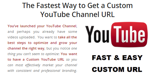 The Fastest Way to Get a Custom YouTube URL - Media Blitz