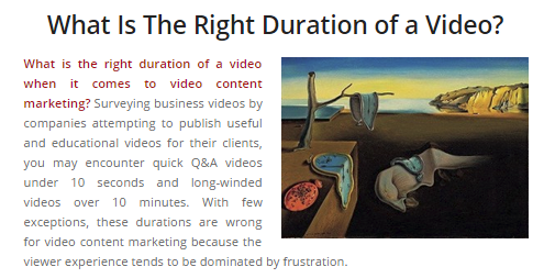 rightdurationofavideo
